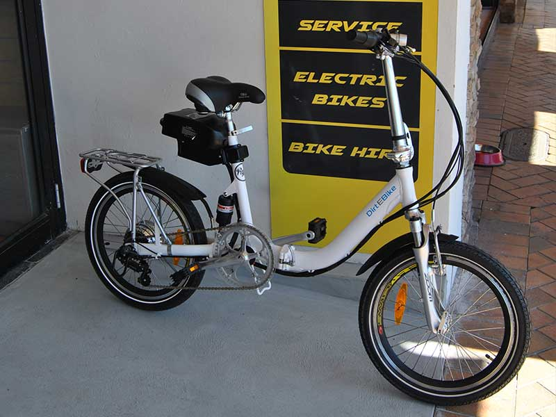 Low Bar Folding Electric Bike 2016