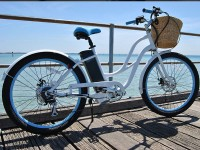 Girls Electric Beach Cruiser